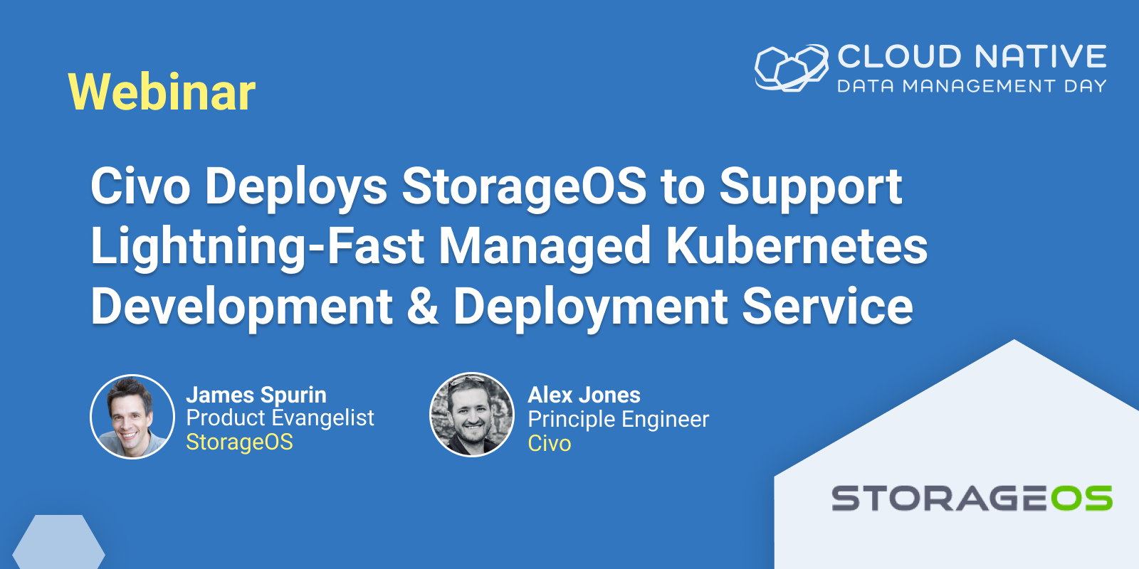 Civo Deploys StorageOS to Support Lightning Fast Managed Kubernetes Development and Deployment Service